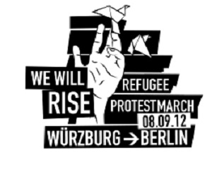 We will rise refugee protest march
